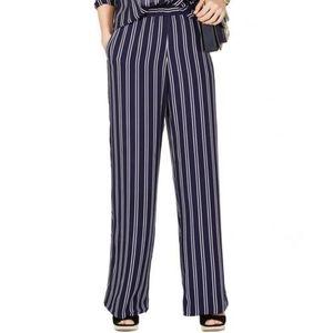 Michael Kors Striped Palazzo Flowy Pants Size L